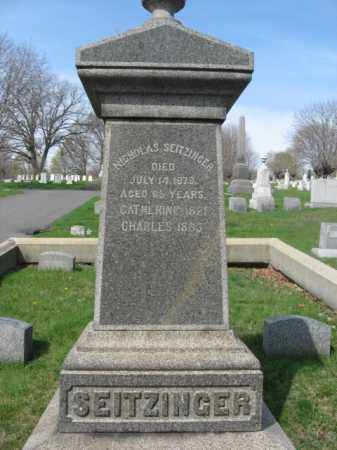 SEITZINGER, NICHOLAS - Schuylkill County, Pennsylvania   NICHOLAS SEITZINGER - Pennsylvania Gravestone Photos