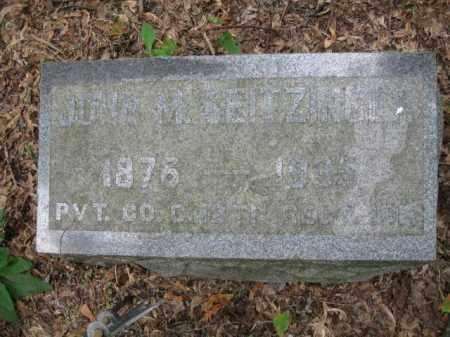SEITZINGER (SAW), JOHN M. - Schuylkill County, Pennsylvania | JOHN M. SEITZINGER (SAW) - Pennsylvania Gravestone Photos