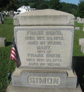 SIMON (CW), FRANK - Schuylkill County, Pennsylvania | FRANK SIMON (CW) - Pennsylvania Gravestone Photos