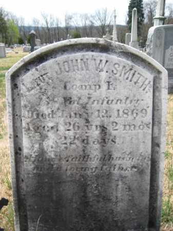 SMITH (CW), LIEUT.JOHN W. - Schuylkill County, Pennsylvania | LIEUT.JOHN W. SMITH (CW) - Pennsylvania Gravestone Photos