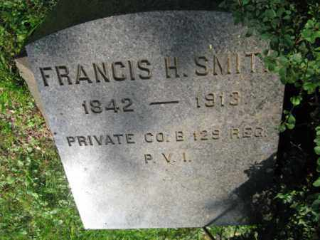 SMITH (CW), PVT.FRANCIS H. - Schuylkill County, Pennsylvania | PVT.FRANCIS H. SMITH (CW) - Pennsylvania Gravestone Photos
