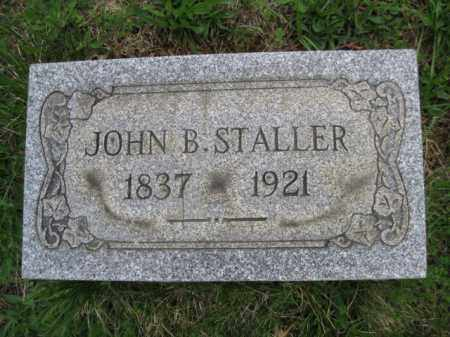 STALLER, JOHN B. - Schuylkill County, Pennsylvania | JOHN B. STALLER - Pennsylvania Gravestone Photos