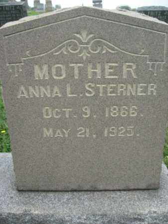 STERNER, ANNA L. - Schuylkill County, Pennsylvania | ANNA L. STERNER - Pennsylvania Gravestone Photos