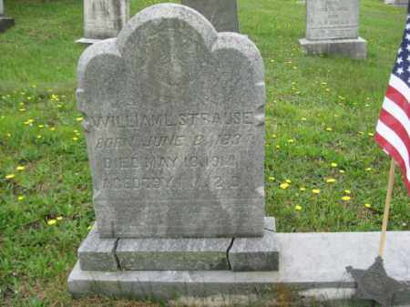 STRAUSE, WILLIAM - Schuylkill County, Pennsylvania | WILLIAM STRAUSE - Pennsylvania Gravestone Photos