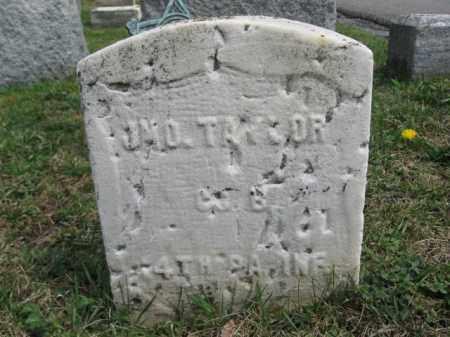 TAYLOR (CW), JOHN - Schuylkill County, Pennsylvania | JOHN TAYLOR (CW) - Pennsylvania Gravestone Photos