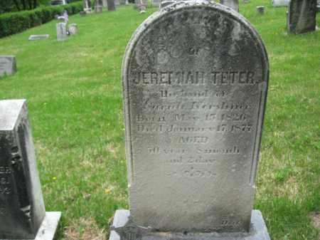 TETER, JEREMIAH - Schuylkill County, Pennsylvania | JEREMIAH TETER - Pennsylvania Gravestone Photos