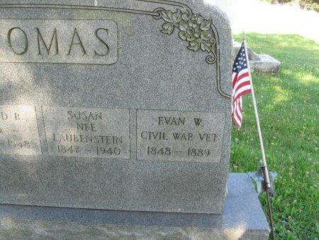 THOMAS (CW), EVAN W. - Schuylkill County, Pennsylvania | EVAN W. THOMAS (CW) - Pennsylvania Gravestone Photos