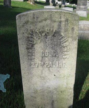 THOMAS (CW), MICHAEL - Schuylkill County, Pennsylvania   MICHAEL THOMAS (CW) - Pennsylvania Gravestone Photos