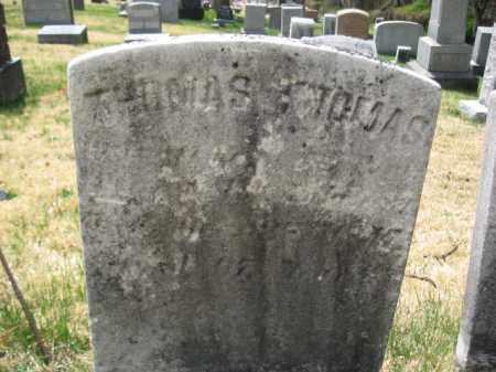 THOMAS (CW), THOMAS - Schuylkill County, Pennsylvania | THOMAS THOMAS (CW) - Pennsylvania Gravestone Photos