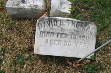 THOMAS, DAVID R. - Schuylkill County, Pennsylvania | DAVID R. THOMAS - Pennsylvania Gravestone Photos