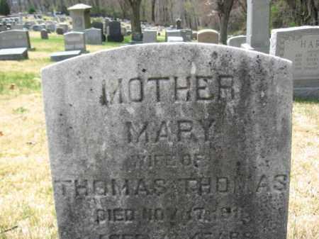 THOMAS, MARY - Schuylkill County, Pennsylvania | MARY THOMAS - Pennsylvania Gravestone Photos