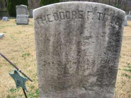TITUS (CW), THEODORE F. - Schuylkill County, Pennsylvania | THEODORE F. TITUS (CW) - Pennsylvania Gravestone Photos