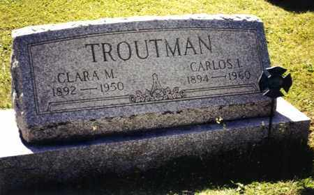 TROUTMAN, CARLOS IRA - Schuylkill County, Pennsylvania | CARLOS IRA TROUTMAN - Pennsylvania Gravestone Photos