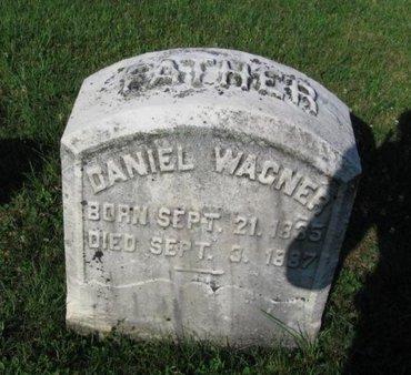 WAGNER, DANIEL - Schuylkill County, Pennsylvania | DANIEL WAGNER - Pennsylvania Gravestone Photos