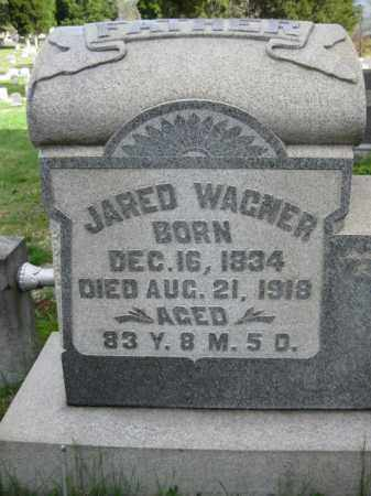 WAGNER, JARED - Schuylkill County, Pennsylvania | JARED WAGNER - Pennsylvania Gravestone Photos