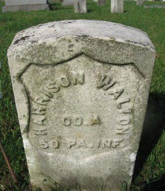 WALTON (CW), HARRISON - Schuylkill County, Pennsylvania | HARRISON WALTON (CW) - Pennsylvania Gravestone Photos