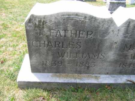 WILLIAMS, CHARLES - Schuylkill County, Pennsylvania | CHARLES WILLIAMS - Pennsylvania Gravestone Photos