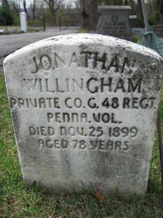 WILLINGHAM (CW), JONATHAN - Schuylkill County, Pennsylvania | JONATHAN WILLINGHAM (CW) - Pennsylvania Gravestone Photos
