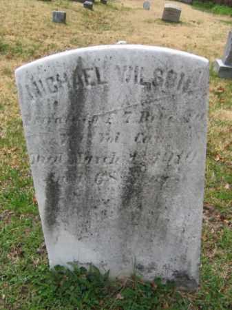 WILSON (CW), MICHAEL - Schuylkill County, Pennsylvania | MICHAEL WILSON (CW) - Pennsylvania Gravestone Photos