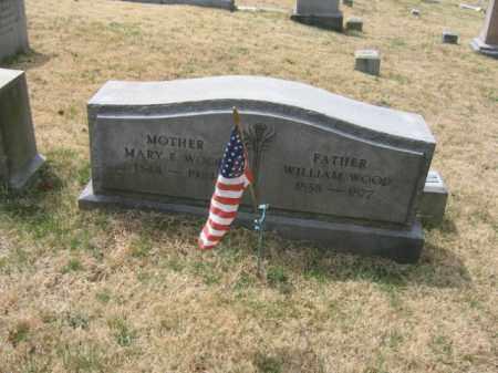 WOOD, WILLIAM - Schuylkill County, Pennsylvania | WILLIAM WOOD - Pennsylvania Gravestone Photos