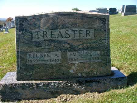 TREASTER, EMELINE J. - Snyder County, Pennsylvania | EMELINE J. TREASTER - Pennsylvania Gravestone Photos