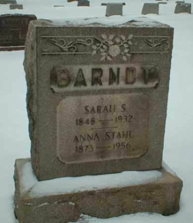 BRANDT, ANNA STAHL - Somerset County, Pennsylvania   ANNA STAHL BRANDT - Pennsylvania Gravestone Photos