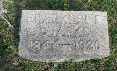 CLARKE (CW), FRANKLIN F. - Somerset County, Pennsylvania   FRANKLIN F. CLARKE (CW) - Pennsylvania Gravestone Photos