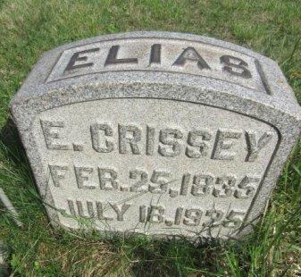 CRISSEY (CW), ELIAS - Somerset County, Pennsylvania | ELIAS CRISSEY (CW) - Pennsylvania Gravestone Photos