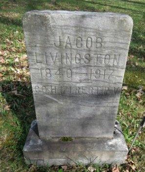 LIVINGSTON (CW), JACOB - Somerset County, Pennsylvania | JACOB LIVINGSTON (CW) - Pennsylvania Gravestone Photos