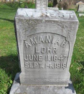 LOHR (CW), AMANIAH - Somerset County, Pennsylvania | AMANIAH LOHR (CW) - Pennsylvania Gravestone Photos