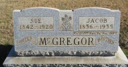 MCGREGOR (CW), JACOB - Somerset County, Pennsylvania | JACOB MCGREGOR (CW) - Pennsylvania Gravestone Photos
