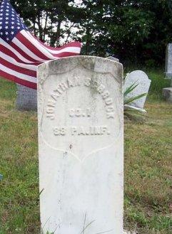 SCHROCK (CW), JONATHAN - Somerset County, Pennsylvania | JONATHAN SCHROCK (CW) - Pennsylvania Gravestone Photos