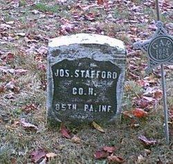 STAFFORD (CW), JOSEPH - Somerset County, Pennsylvania   JOSEPH STAFFORD (CW) - Pennsylvania Gravestone Photos