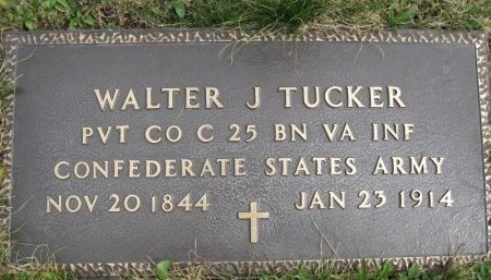 TUCKER (CW-CSA), WALTER J. - Somerset County, Pennsylvania | WALTER J. TUCKER (CW-CSA) - Pennsylvania Gravestone Photos
