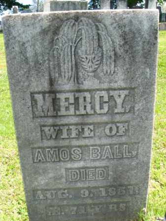 BALL, MERCY - Susquehanna County, Pennsylvania | MERCY BALL - Pennsylvania Gravestone Photos