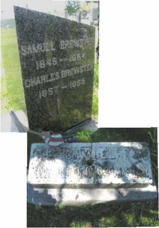 BREWSTER (CW), SAMUEL - Susquehanna County, Pennsylvania | SAMUEL BREWSTER (CW) - Pennsylvania Gravestone Photos