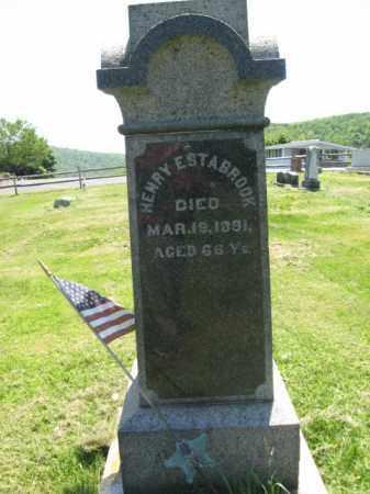 ESTABROOK (CW), HENRY - Susquehanna County, Pennsylvania | HENRY ESTABROOK (CW) - Pennsylvania Gravestone Photos