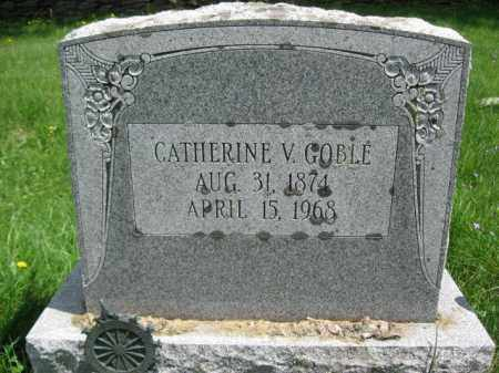 GOBLE, CATHERINE - Susquehanna County, Pennsylvania | CATHERINE GOBLE - Pennsylvania Gravestone Photos