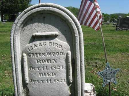 GREENWOOD (CW), ISAAC BIRD - Susquehanna County, Pennsylvania | ISAAC BIRD GREENWOOD (CW) - Pennsylvania Gravestone Photos