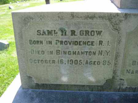 GROW, SAMUEL H.R. - Susquehanna County, Pennsylvania | SAMUEL H.R. GROW - Pennsylvania Gravestone Photos