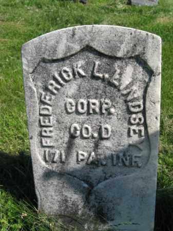 LINDSEY (CW), FREDERICK L. - Susquehanna County, Pennsylvania | FREDERICK L. LINDSEY (CW) - Pennsylvania Gravestone Photos
