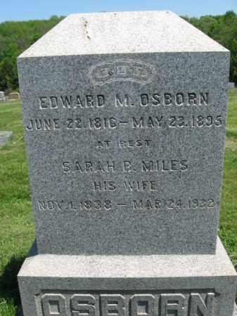 OSBORN (CW), EDWARD M. - Susquehanna County, Pennsylvania | EDWARD M. OSBORN (CW) - Pennsylvania Gravestone Photos