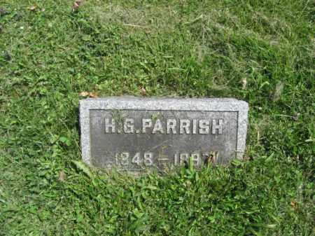 PARRISH, H.G. - Susquehanna County, Pennsylvania | H.G. PARRISH - Pennsylvania Gravestone Photos