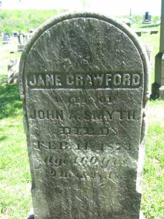 SMYTH, JANE - Susquehanna County, Pennsylvania   JANE SMYTH - Pennsylvania Gravestone Photos
