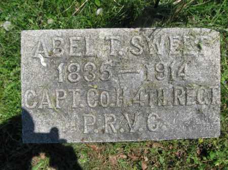 SWEET (CW), ABEL T. - Susquehanna County, Pennsylvania | ABEL T. SWEET (CW) - Pennsylvania Gravestone Photos