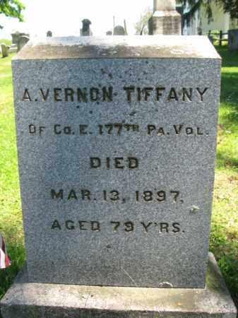 TIFFANY (CW), AMOS VERNON - Susquehanna County, Pennsylvania | AMOS VERNON TIFFANY (CW) - Pennsylvania Gravestone Photos