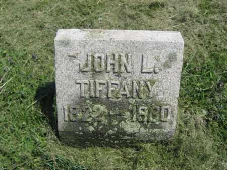 TIFFANY, JOHN L. - Susquehanna County, Pennsylvania | JOHN L. TIFFANY - Pennsylvania Gravestone Photos