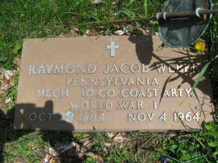 WEBER (WW I), RAYMOND JACOB - Susquehanna County, Pennsylvania | RAYMOND JACOB WEBER (WW I) - Pennsylvania Gravestone Photos