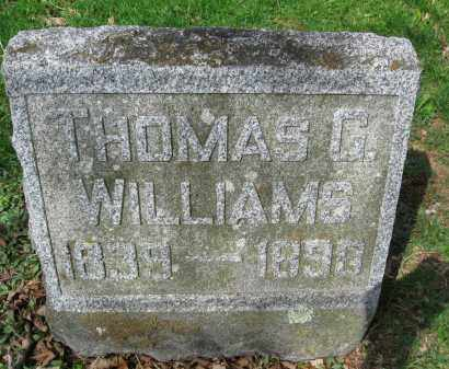 WILLIAMS, THOMAS G. - Susquehanna County, Pennsylvania | THOMAS G. WILLIAMS - Pennsylvania Gravestone Photos