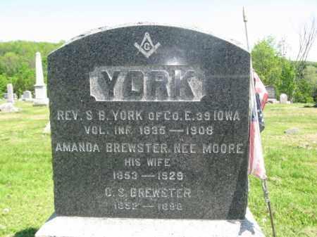 YORK (CW), STEPHEN B. - Susquehanna County, Pennsylvania | STEPHEN B. YORK (CW) - Pennsylvania Gravestone Photos